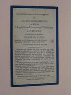 DP Magdalena DE RYCKE (Dochtertje Van PIERRE) St. Nicolaas 16 Okt 1919 - 2 Nov 1928 ( Zie Foto's ) ! - Obituary Notices