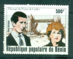 Benin 1981 Charles & Diana Royal Wedding MUH Lot81943 - Benin - Dahomey (1960-...)
