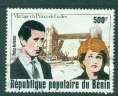 Benin 1981 Charles & Diana Wedding FU Lot44799 - Benin - Dahomey (1960-...)