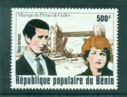 Benin 1981 Charles & Diana Wedding MUH Lot44798 - Benin - Dahomey (1960-...)