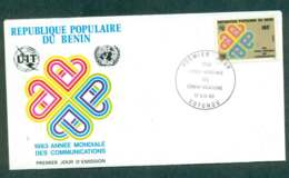 Benin 1983 World Communication Year FDC Lot50496 - Benin - Dahomey (1960-...)