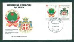 Benin 1985 Sovereign Order Of Malta Postal Convention FDC Lot50487 - Benin - Dahomey (1960-...)