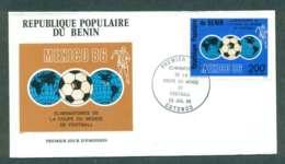 Benin 1985 World Cup FDC Lot50495 - Benin - Dahomey (1960-...)