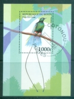Benin 1997 Birds MS CTO - Benin - Dahomey (1960-...)