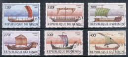 Benin 1997 Old Sailing Ships CTO - Benin - Dahomey (1960-...)