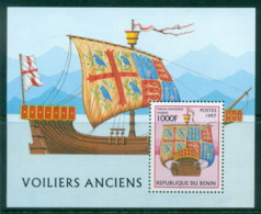 Benin 1997 Old Sailing Vessels MS MUH - Benin - Dahomey (1960-...)