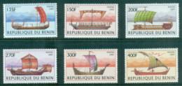 Benin 1997 Old Sailing Vessels MUH - Benin - Dahomey (1960-...)
