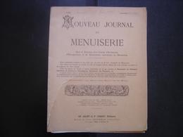 1920 NOUVEAU JOURNAL DE MENUISERIE Juliot Coquet Dourdan BOIS - Planches & Plans Techniques