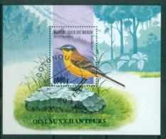 Benin 1997 Song Birds MS CTO - Benin - Dahomey (1960-...)