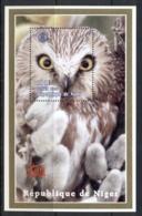 Benin 1998 Birds, Owl MS MUH - Benin - Dahomey (1960-...)