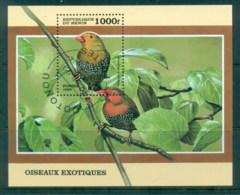 Benin 1999 Birds MS CTO - Benin - Dahomey (1960-...)