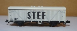 "Type N - Wagon Frigorific  "" STEF ""  De Marque ROCO - Sans Boite - Goods Waggons (wagons)"