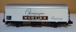 "Type N - Wagon "" Champagne Mercier "" De Marque ARNOLD , Sans Boite - Goods Waggons (wagons)"