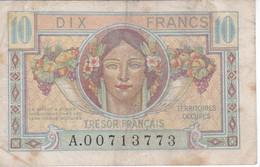 BILLETE DE FRANCIA DE 10 FRANCS DEL AÑO 1947  (BANKNOTE) - Tesoro