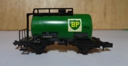 Type N - Wagon Chaudière BP De Minitrix 3232 - Sans Boite - Goods Waggons (wagons)