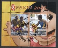 Benin 2007 Sport, Beijing 2008, Kayak, Disney MS CTO - Benin - Dahomey (1960-...)