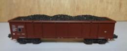 "Type N - Wagon Houillé "" Epoque III "" De Roco - Sans Boite - Goods Waggons (wagons)"