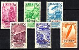 Guinea Española Beneficencia Nº 12/17 En Nuevo - Guinée Espagnole