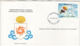 Anguilla.  FDC Du 20/FEB/1984. - Anguilla (1968-...)