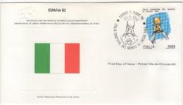 Italie.  FDC Du 12/9/1982. - Italy