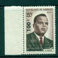 Dahomey 1960 Independence Opt MUH Lot41575 - Benin - Dahomey (1960-...)