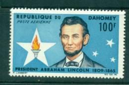 Dahomey 1965 Abraham Lincoln MUH Lot41601 - Benin - Dahomey (1960-...)