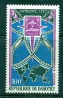 Dahomey 1967 Boy Scout Jamboree MUH Lot41603 - Benin - Dahomey (1960-...)