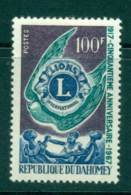 Dahomey 1967 Lions International MUH Lot41584 - Benin - Dahomey (1960-...)