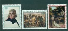 Dahomey 1969 30,75 7 100fr Birth Of Napoleon MUH Lot41607 - Benin - Dahomey (1960-...)