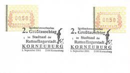 Österreich Austria 2001 Korneuburg Brother Grimm Pied Piper Of Hameln  Övebria ATM Card - Contes, Fables & Légendes