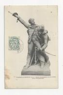 55 FRESNES EN WOEVRE - La Statue Du Général Margueritte - Place Margueritte - Cpa Meuse - Other Municipalities