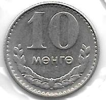 *mongolia 10 Mongo 1981 Km 30  Unc - Mongolie