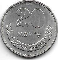 *mongolia 20 Mongo 1981 Km 32  Unc - Mongolie