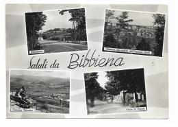 SALUTI DA BIBBIENA - VEDUTE -  VIAGGIATA FG - Arezzo