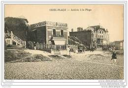 76 CRIEL SUR MER - Arrivée A La Plage - Criel Sur Mer