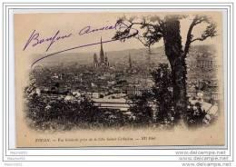 CPA 76 - ROUEN - VUE GENERALE PRISE DE LA COTE SAINTE CATHERINE - Rouen
