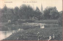 """Luckenwalde """"Stadtpark"""" -, 1909 Nach Pommern - Deutschland"""