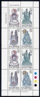 ALBANIA 1998 Legend Of Lake Ohrid Set Of 4 In Sheetlet  MNH / **.  Michel 2644-47 Kb - Albania