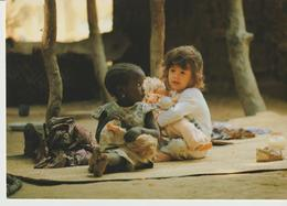 477-Folklore-Usi E Costumi-Bambini-Tchad - Africa