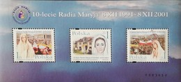 Poland  2001 Radio Maryja 10th. Anniv. S/S - 1944-.... Republic
