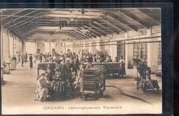 Italië Italy Italia - Cinzano - Imbottigliamento Vermouth - 1923 - Italia