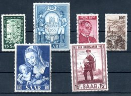 Sarre / Lot De Timbres - Saar