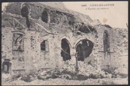 CPA - (62) Vitry En Artois - L'église En Ruines - Vitry En Artois