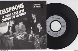 45 T TELEPHONE LE JOUR S EST LEVE - Vinyl Records