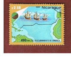 NICARAGUA - SG  2411    -    1982  AMERICA DISCOVERY: FLEET     -  USED° - Nicaragua