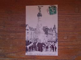 """Reims , La Colonne Subé , Côté Avenue Drouet-d'erlon """""""" Carte Animée """""""" - Reims"""