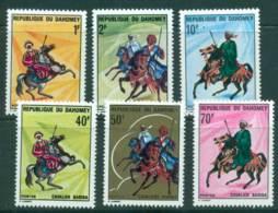 Dahomey 1970 Warriors On Horses MUH Lot415897 - Benin - Dahomey (1960-...)