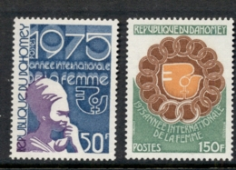 Dahomey 1975 IWY International Women's Year MUH - Benin - Dahomey (1960-...)