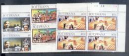 Botswana 1977 QEII Silver Jubilee Blk4 MUH - Botswana (1966-...)