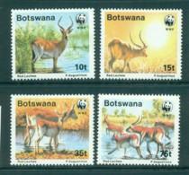 Botswana 1988 WWF Red Lechwe MUH Lot73244 - Botswana (1966-...)